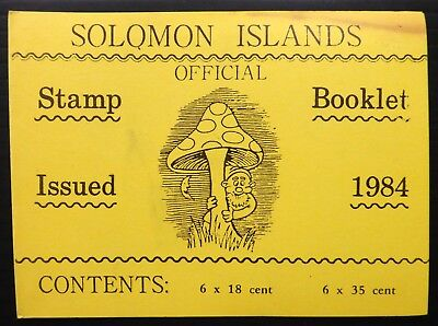 SOLOMON ISLANDS 1984 Fungi Booklet SB6 Cat £11 SEE BELOW NF905