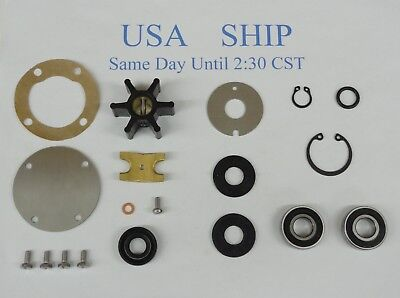 Rebuild Kit For Onan Marine Generator Raw Sea Water Pump 132-0284 MAJB 2.5/3.0KW