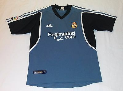2001 REAL MADRID 3RD ADIDAS MEDIUM SPAIN ESPAñA JERSEY LFP ZIDANE FIGO CASILLAS image