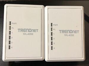 TRENDnet powerline kit $40