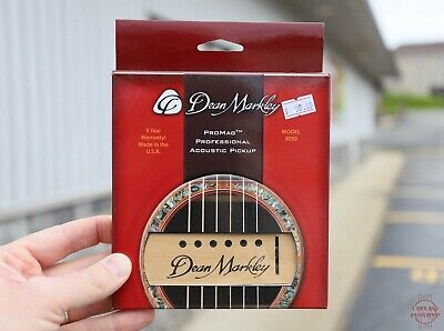 Dean Markley ProMag Professional Acoustic Pickup Model 3050 NEW!