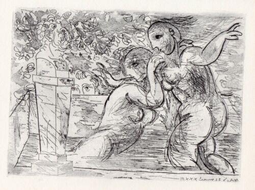 Pablo Picasso, The Surprised Bathers (Les Baigneuses surprises), Vollard Suite