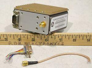 FEI FE-5650A (FE-5680A) Rubidium Oscillator 10MHz 15V Digital EFC - Calibrated