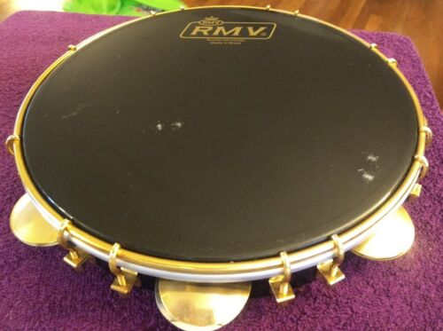 "Pandeiro RMV Authentic 11"" - Brazilian W/Serial Number - Amazing Sound"