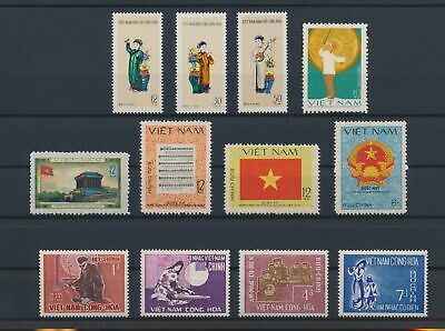 LO17990 Vietnam songs music traditional clothing folklore fine lot MNH