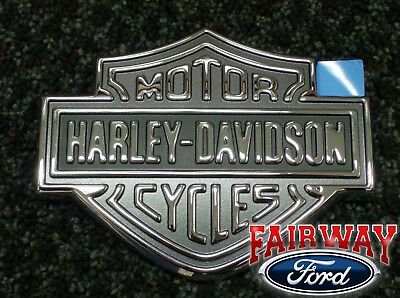 Super Duty F250 F350 OEM Genuine Ford Parts Harley Davidson Tailgate Emblem NEW for sale  Canfield