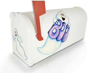 Spooky Boo Ghosts LG/SM Mailbox Magnets Halloween Decor Not a Decal or Cover](Boo Decorations Halloween)
