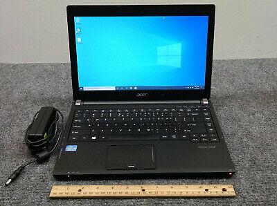 "Acer TravelMate P633-M 13.3"" Laptop Core i7-3632QM, 8GB RAM, 256GB SSD w/Adapter"