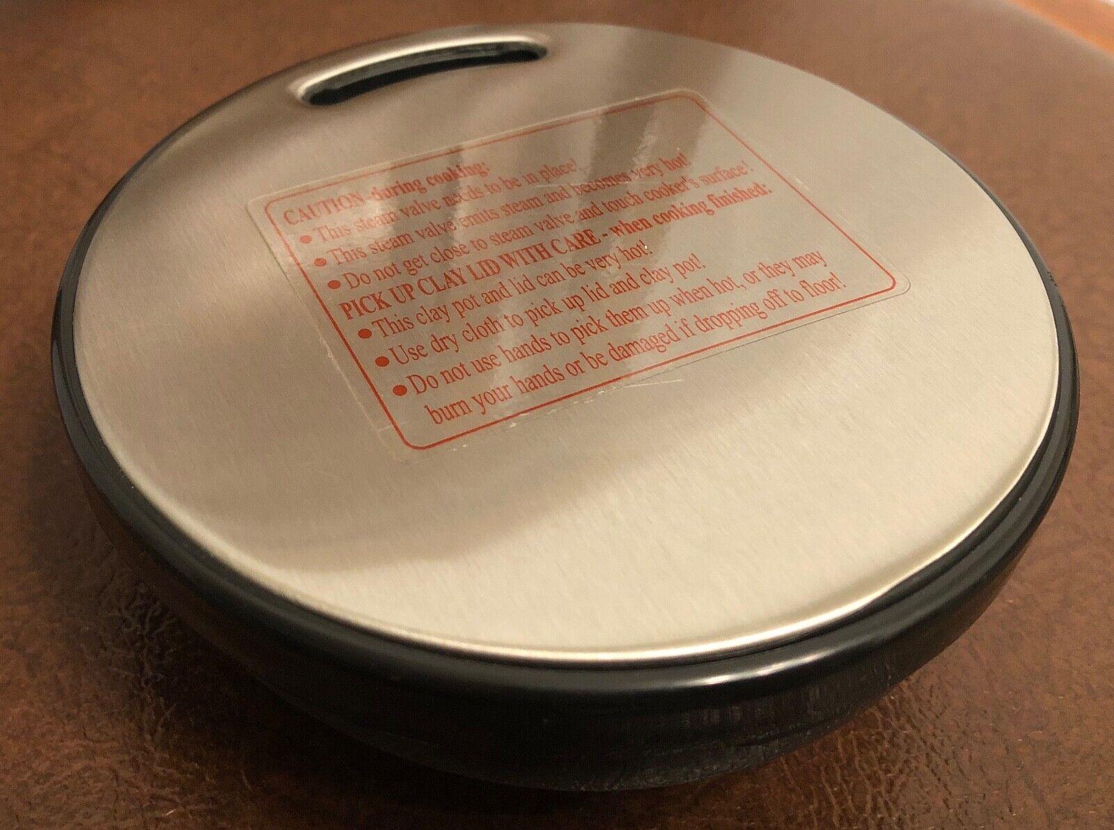 VitaClay Chef 8-Qt Slow Cooker Steam Cap - Fits VM7900-8