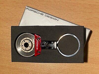 NEW Genuine Porsche Design Rd Brake Caliper & Disc Keychain Ring (Key Chain)
