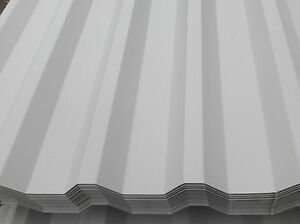 Box profile roof sheets steel metal tin corrugated roof sheets ebay