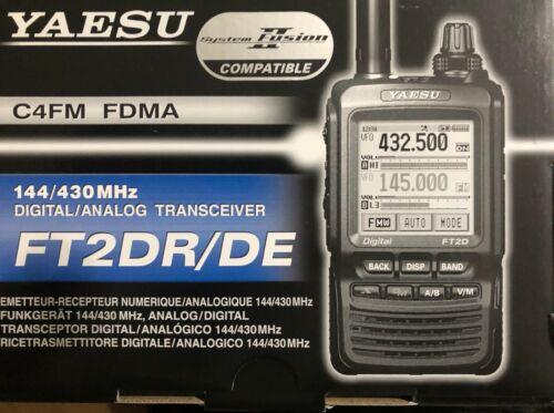 Yaesu FT2DR 1245 Channels Handheld Amateur Transceiver
