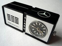 Mercedes Benz Classic Emes Sonochron Retro Mechanical Travel Desk Alarm Clock