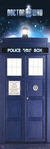 Doctor Who Tardis Door Poster - BRAND NEW SEALED