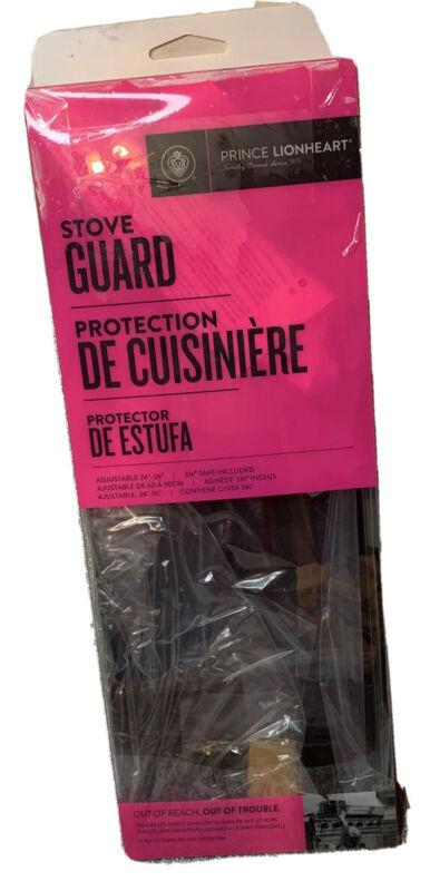 Prince Lionheart Shield-A-Burn Adjustable Stovetop Oven Stove Guard -