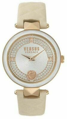 Versus Versace Leather Strap Ladies Watch VSPCD5018