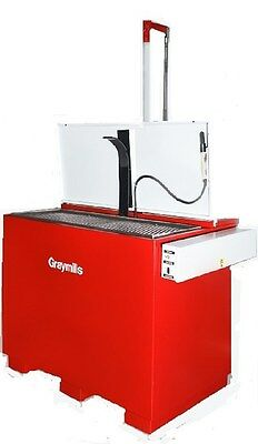Graymills Immersion Solvent Parts Washer -stainless- Insulated