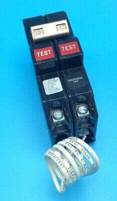 New Circuit Breaker Eaton Cutler-hammer Ch215gf Gfci 15 Amp 2 Pole 120240v Ch