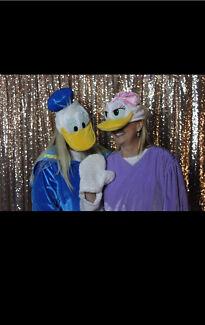 Donald & Daisy Duck costume hire