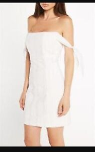 White Bardot Dress Hamilton Newcastle Area Preview