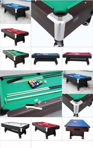 NEW 7FT POOL TABLE WITH MULTI-GAMING TOP Hope Valley Tea Tree Gully Area Preview