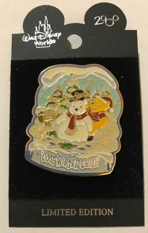Disney Seasonal Series Winnie The Pooh Cool Winter Chill Limited Edition Pin