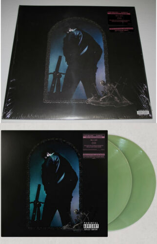 """POST MALONE """"HOLLYWOOD'S BLEEDING"""" LIMITED EDITION 2 LP Coke Bottle Clear VINYL"""