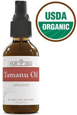 Pur360 Tamanu Oil Treatment for Psoriasis Eczema Acne Scar,Foot Fungus SHIP WRD