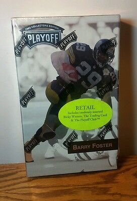 1993 Collectors Edition Barry Foster  Factory Sealed 24 Count Box Playoff