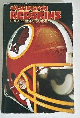 Washington Redskins 2001 Media Guide
