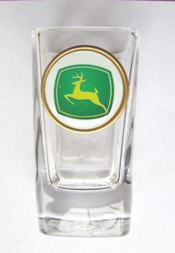 John Deere  Shot Glass , John Deere  Logo Shot Glasses , John Deere shotglass
