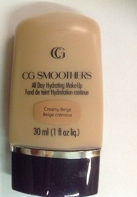CoverGirl CG Smoothers All Day Hydrating Makeup Foundation CREAMY BEIGE.
