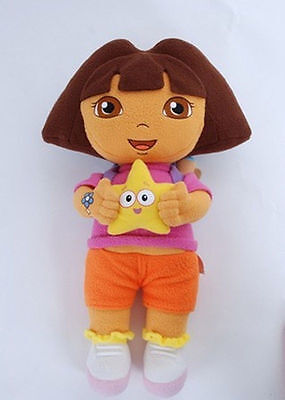 New DORA THE EXPLORER Kids Girls Soft Cuddly Stuffed Plush Toy Doll Free