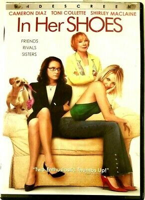 In Her Shoes (DVD, 2009, Wedding) Cameron Diaz, Toni Collette, Shirley MacLaine  Shirley Bridal Shoes