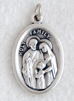 JMJ HOLY FAMILY Jesus Mary Joseph Catholic Patron Saint Medal (Joseph Patron Saint Medal)