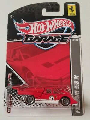 Hot Wheels Garage Ferrari 512 M * Red * NIP 1:64 Scale