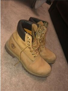 Men's timberland boots with box