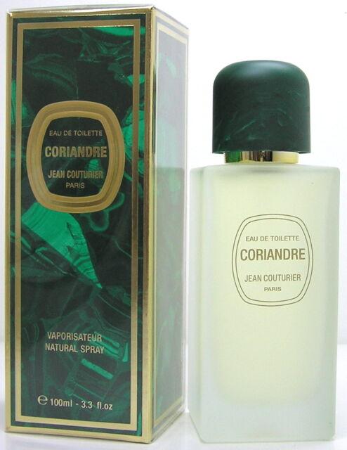 Jean Couturier Coriandre 100 ml EDT Spray  Neu OVP