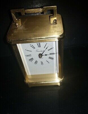 Timemaster Vintage Carriage Mantle Clock