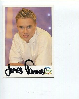 James Tanner Ready Steady Cook TV Host & Author Signed