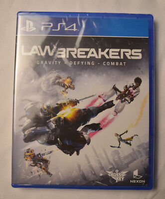 Lawbreakers Sony Playstation 4 PS4 Limited Run Games New Sealed