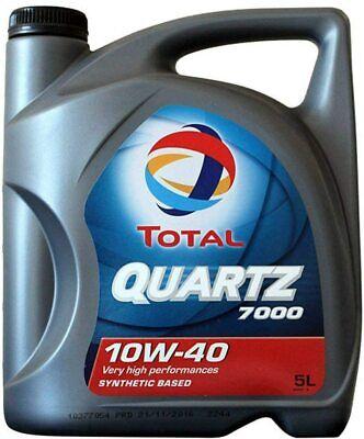 Total Quartz 7000 10W-40 Aceite de Motor Sintético 5 L - (3425900000344)