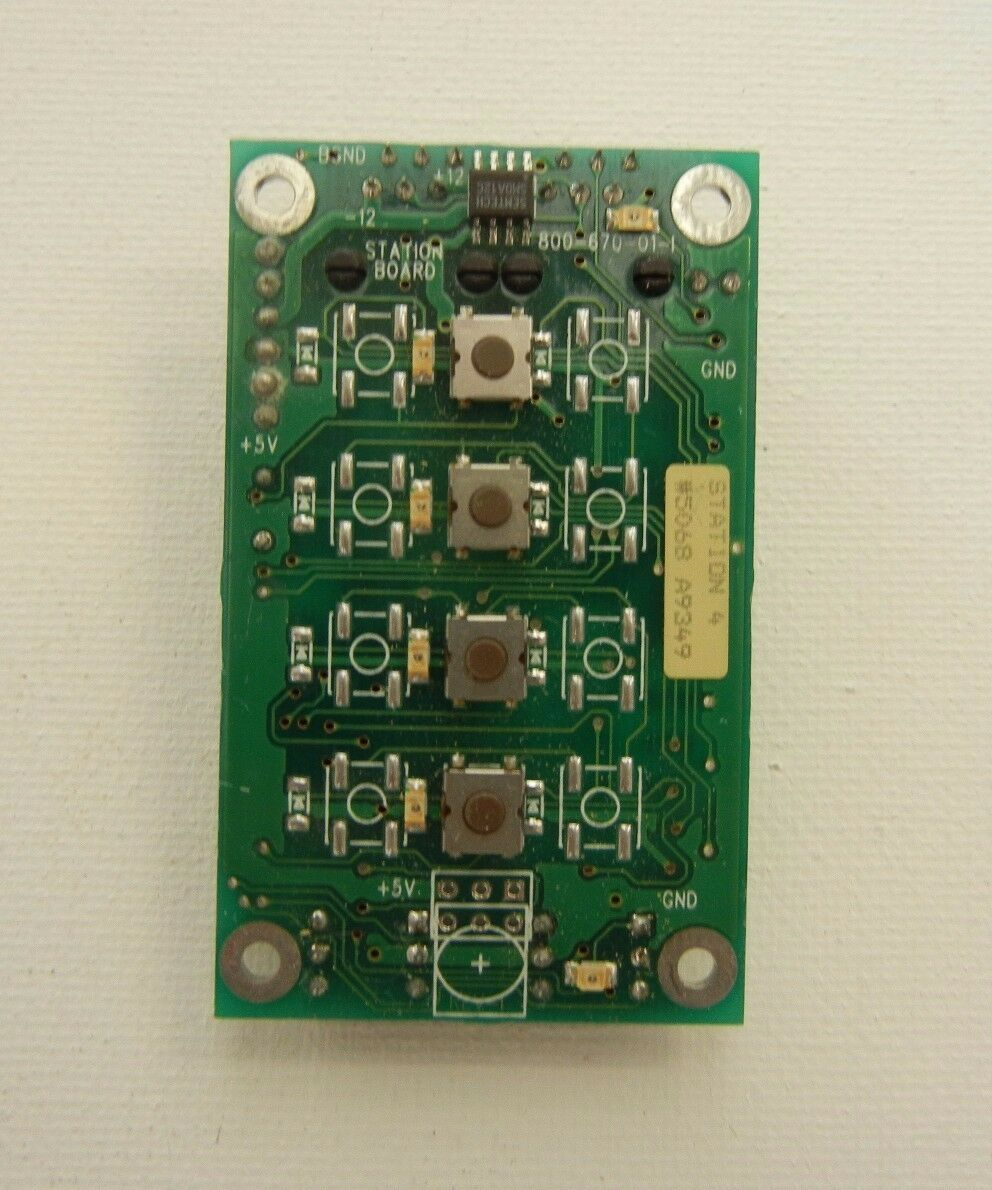 Vantage Controls, Vision system 4 Button Station Board
