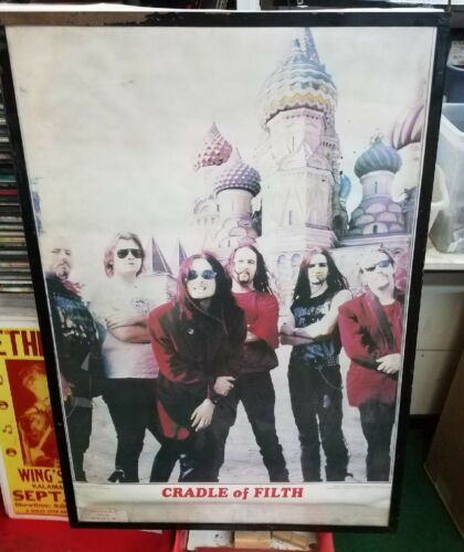 CRADLE OF FILTH POSTER NEW EARLY 2000