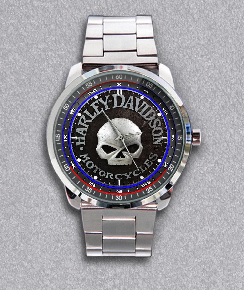 Best Item Harley-Davidson Skull Willie G Sport Metal Watches