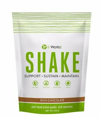 IT WORKS! SHAKE PLANT-BASED PROTEIN POWDER