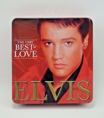Elvis Presley The Very Best of Love 12 Song Music CD, DVD, 32 Page Biography