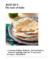 Homemade Roti in Cambridge
