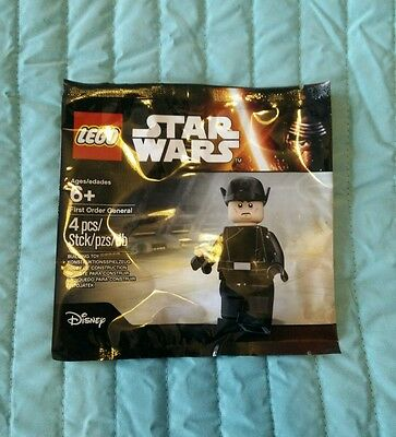 Lego Star Wars 5004406 - First Order General. New, Sealed, Polybag.
