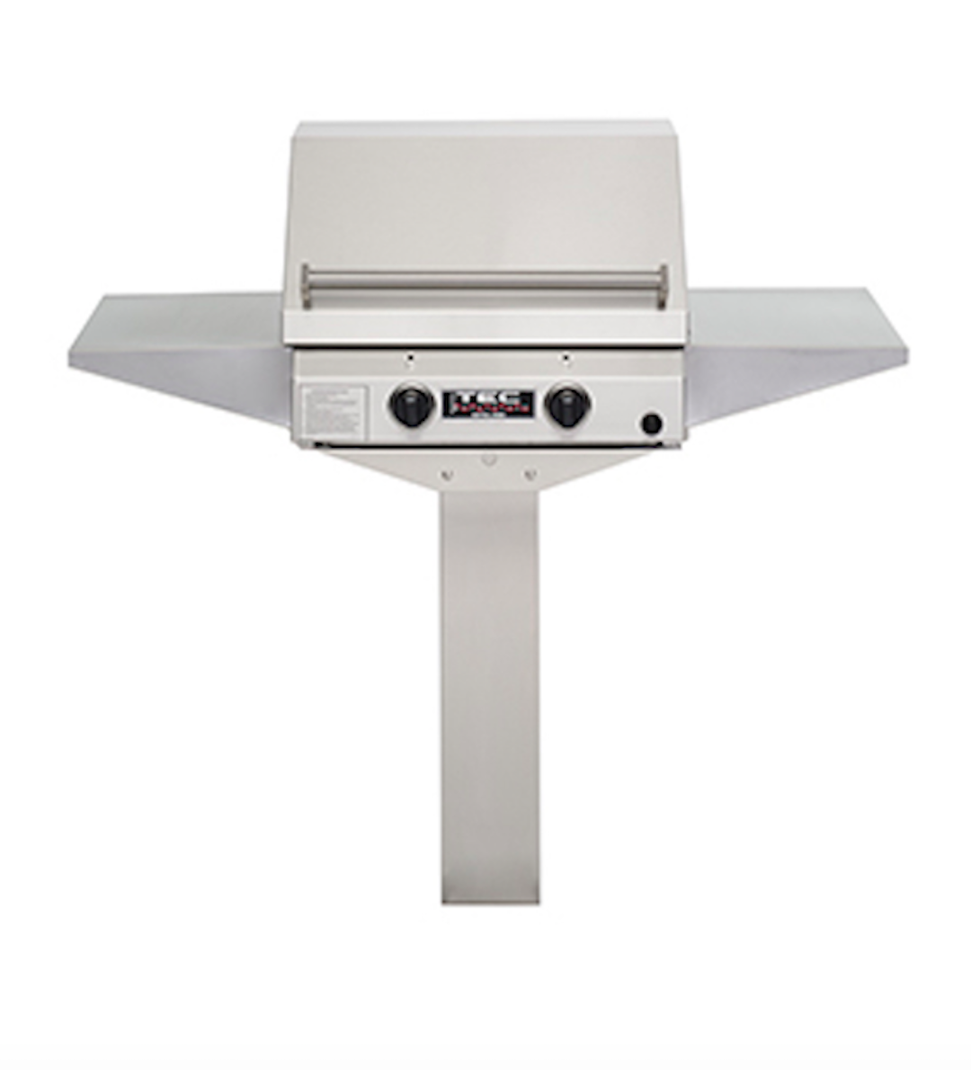 """NEW TEC 26"""" Infrared Grill IN GROUND W/ 2 Side Shelves Sear"""